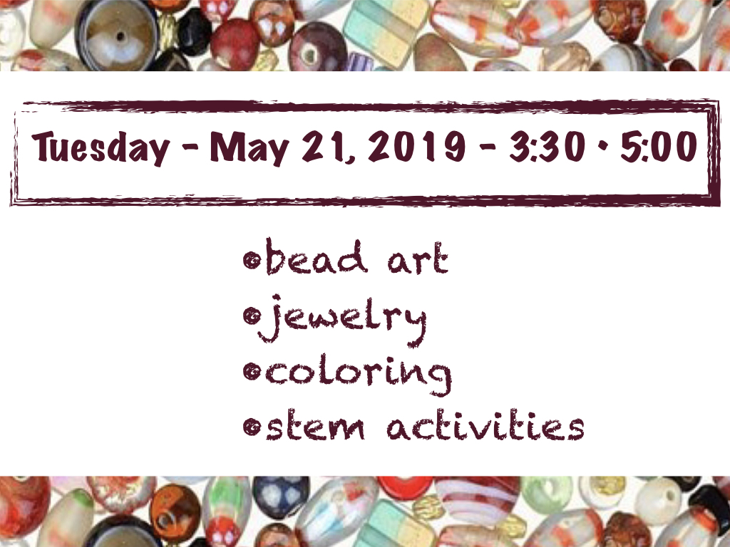 Beads, Beads and More Beads