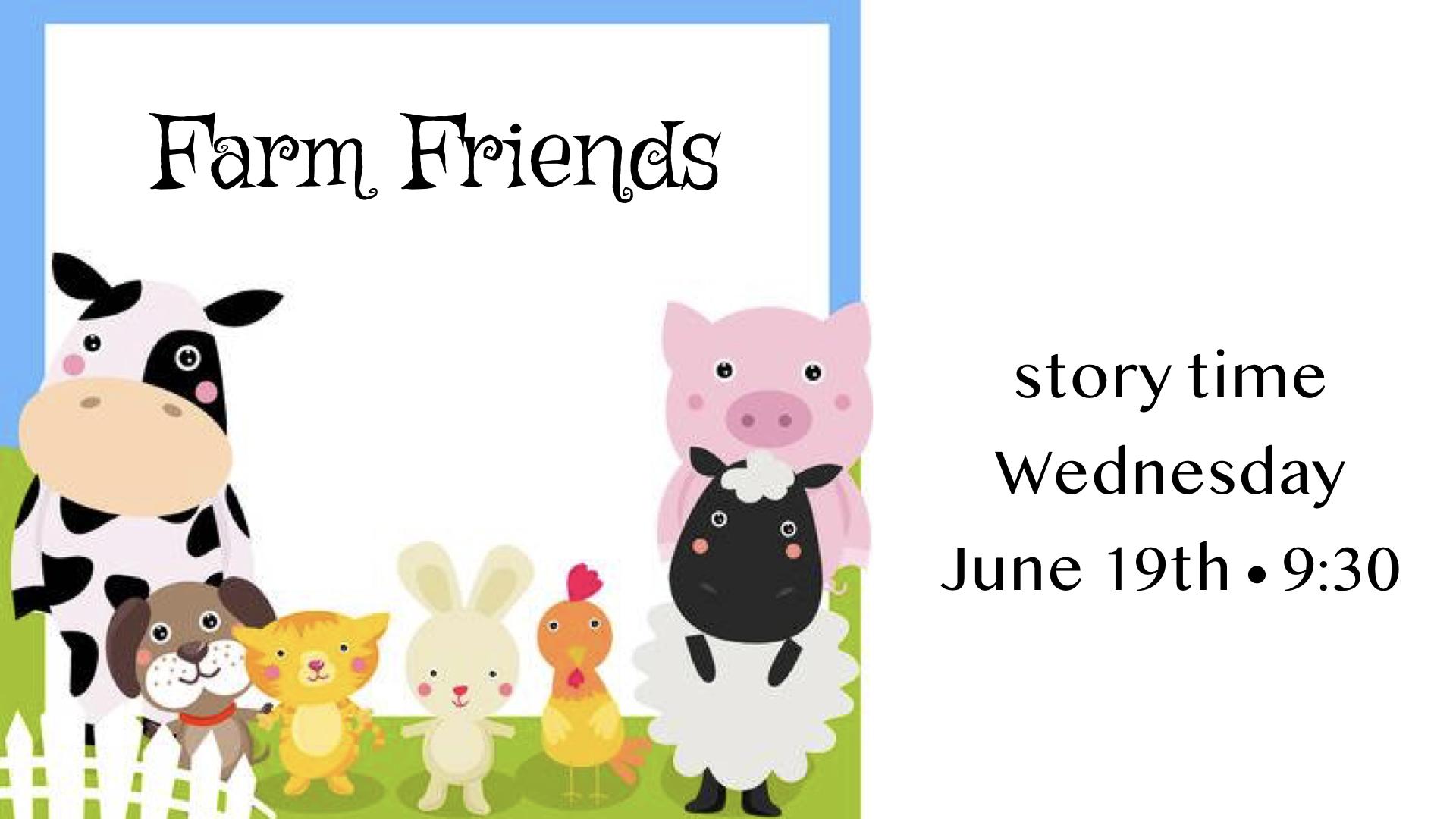 Preschool Storytime~June 19, 2019