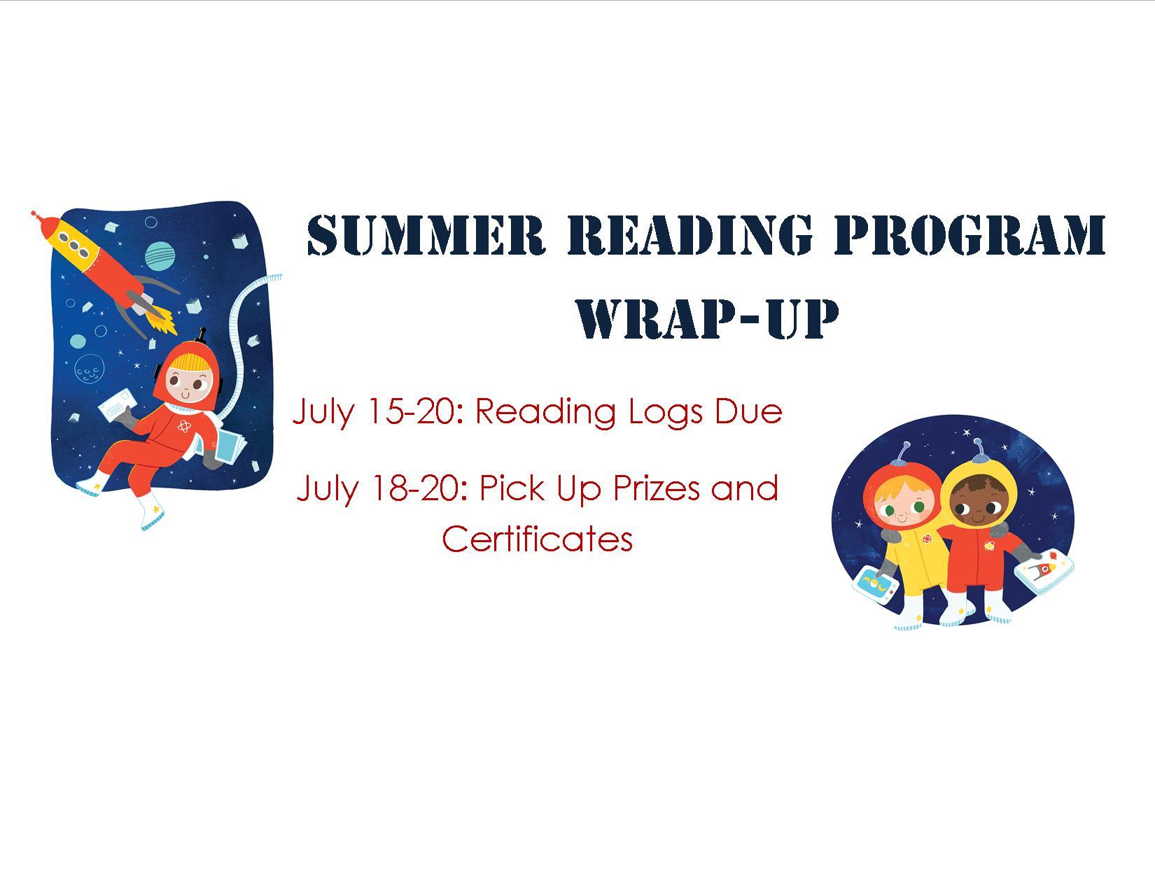 Summer Reading Program Wrap-Up