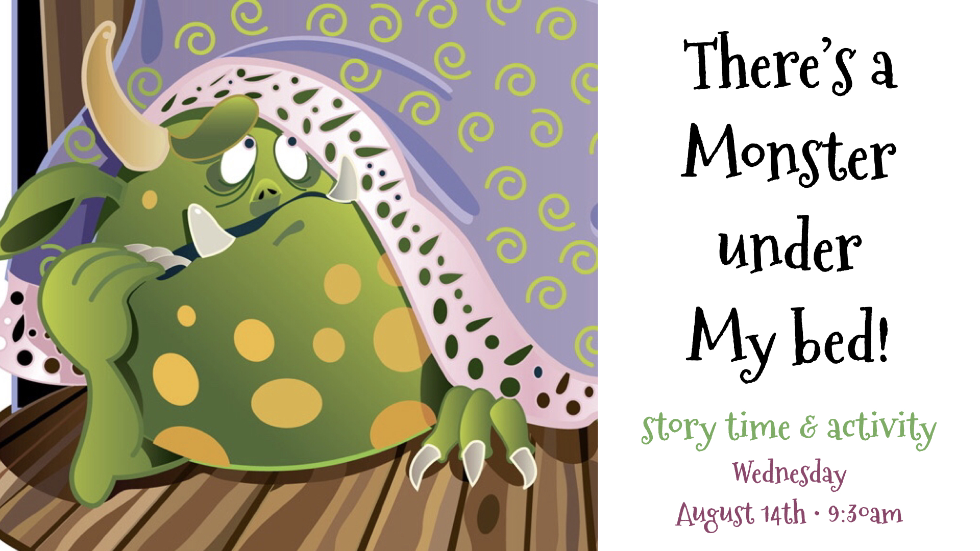 Storytime~August 14, 2019