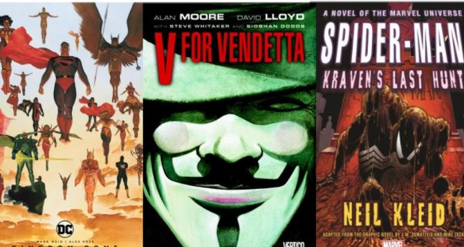 Coming November 5 ~Graphic Novels~