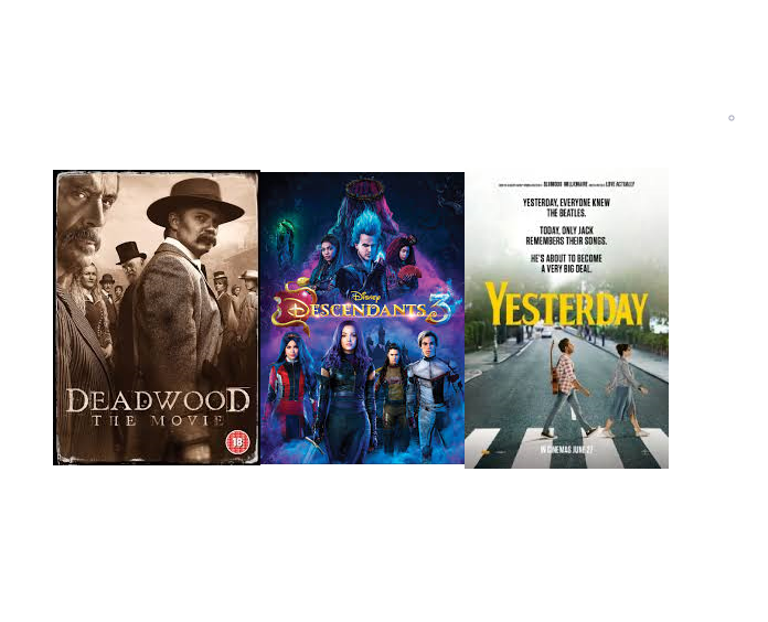 New DVD Arrivals coming October 21, 2019
