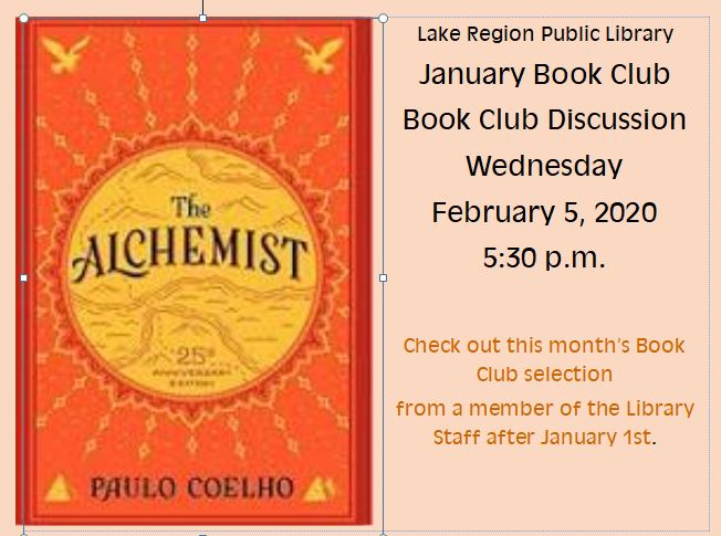 January Book Club Selection