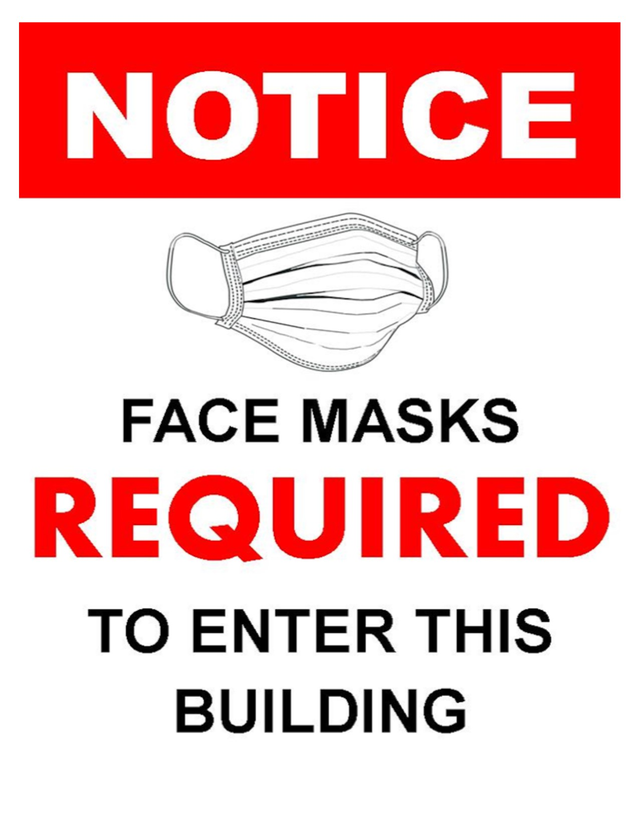 Masks are now Required